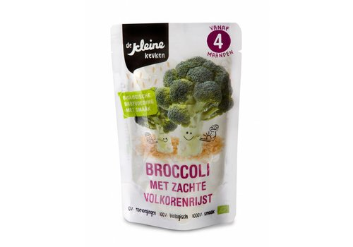 Biologisch Broccoli hapje