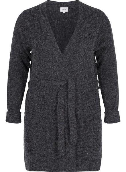 Zizzi vest dark grey