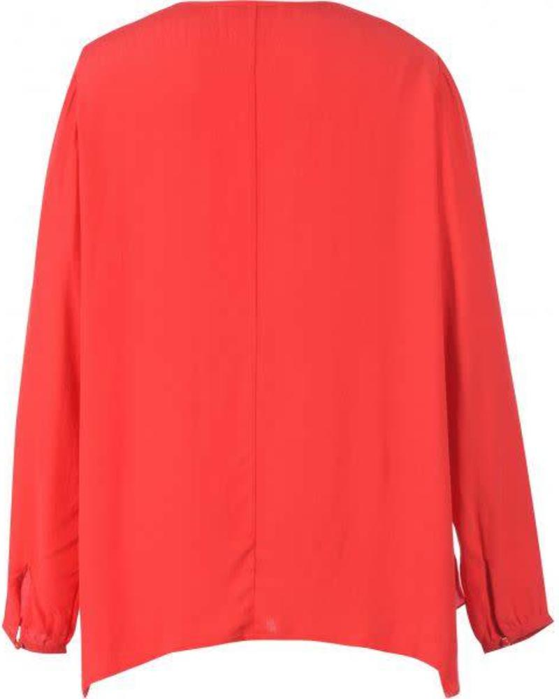 Studio top/blouse rood studio