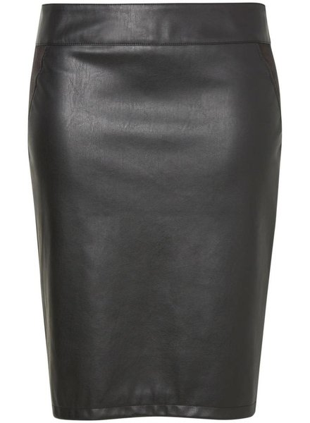 Junarose IMITATE LEATHER SKIRT GIKKA