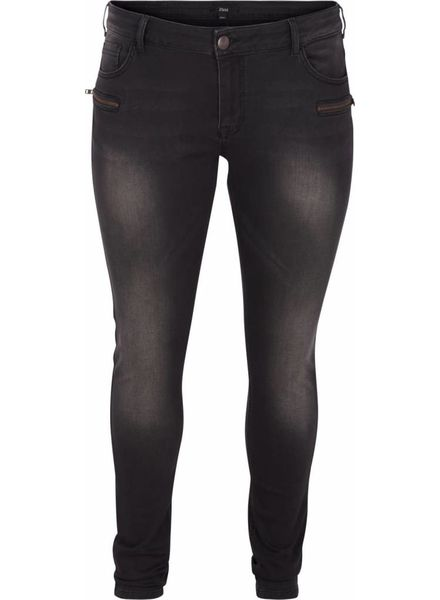 Zizzi Jeans Sanna black washed