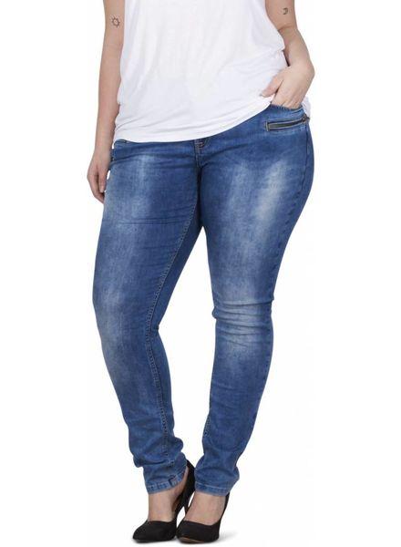 Zizzi Sanna jeans blue denim