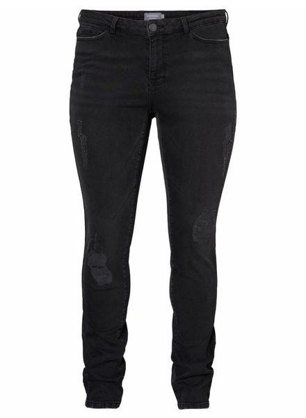 Junarose five black destroyed jeans