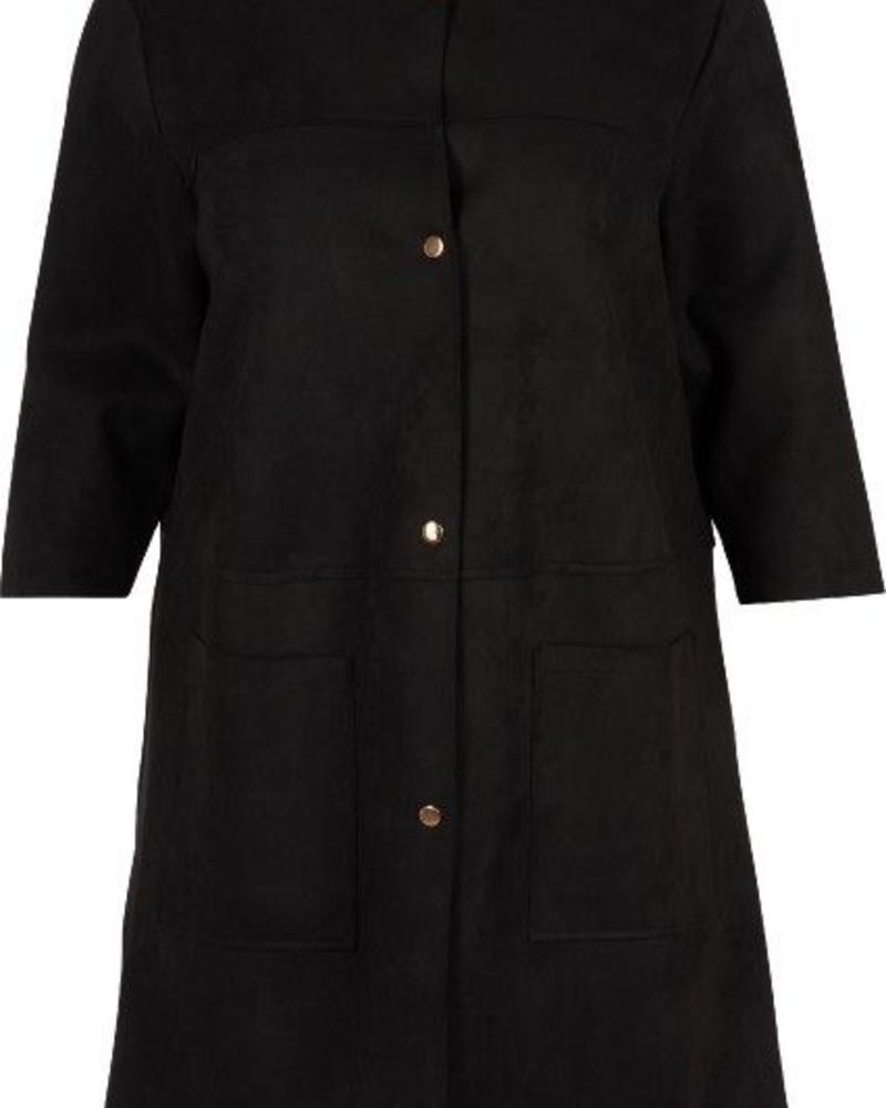 indoor jacket suedine