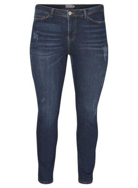 Junarose five jeans darkblue