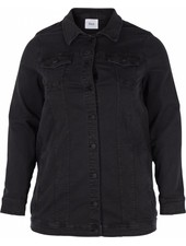 Zizzi denim jacket long
