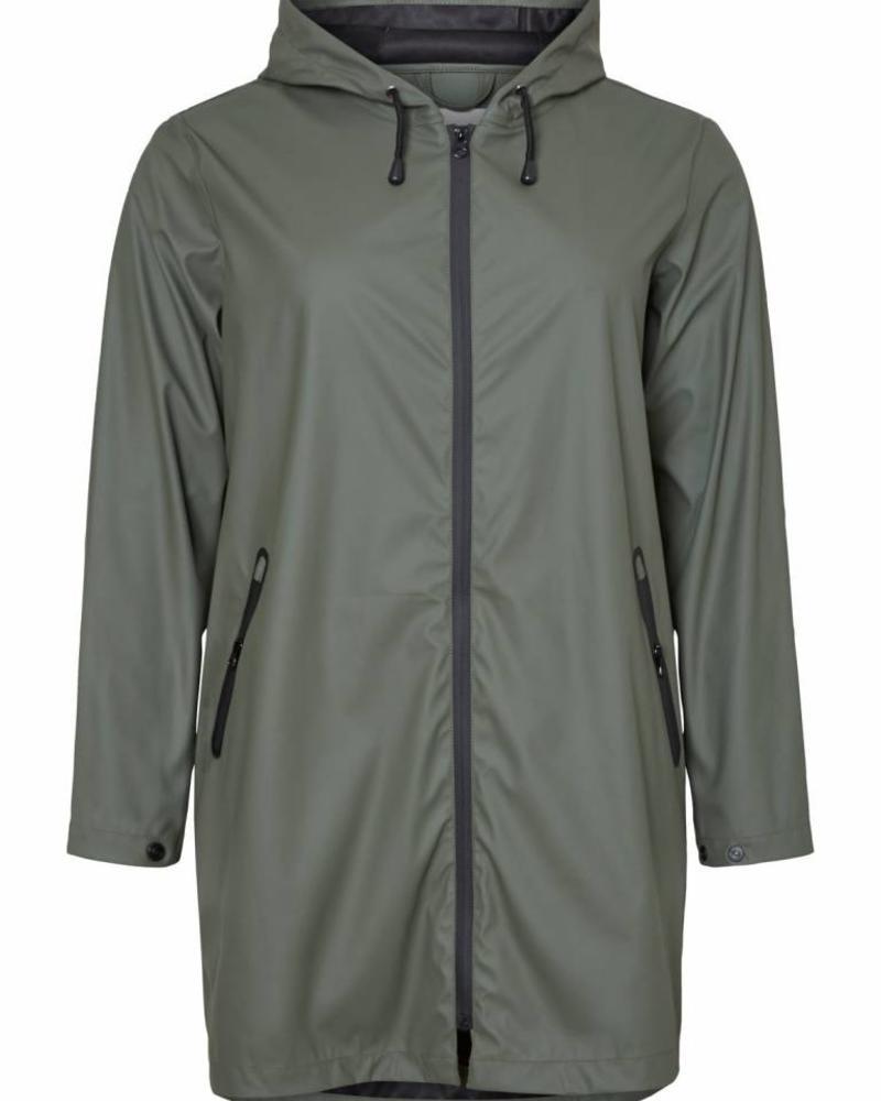 Junarose raincoat Camelia