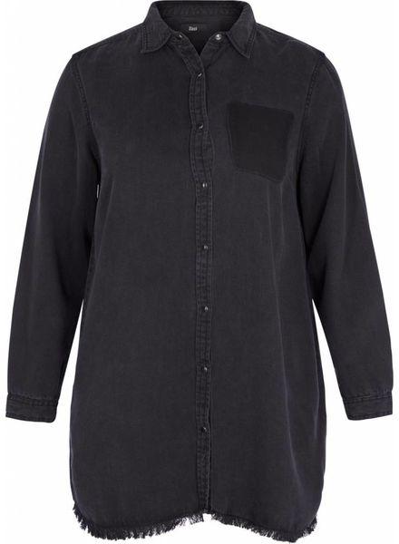 Zizzi Masja denim blouse