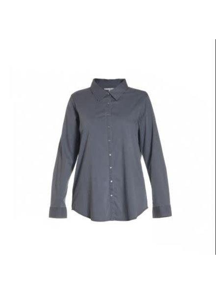 Studio gewassen denim blouse