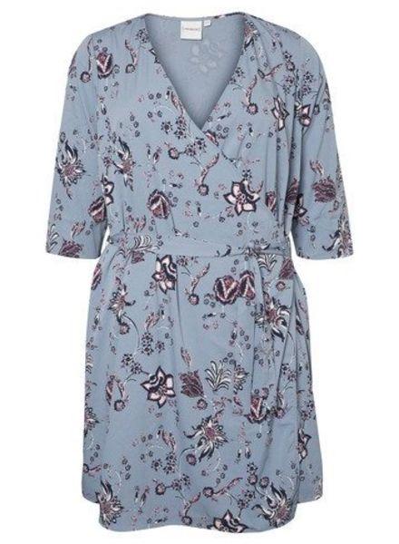 Junarose wrapdress Maya 3/4 sleeve