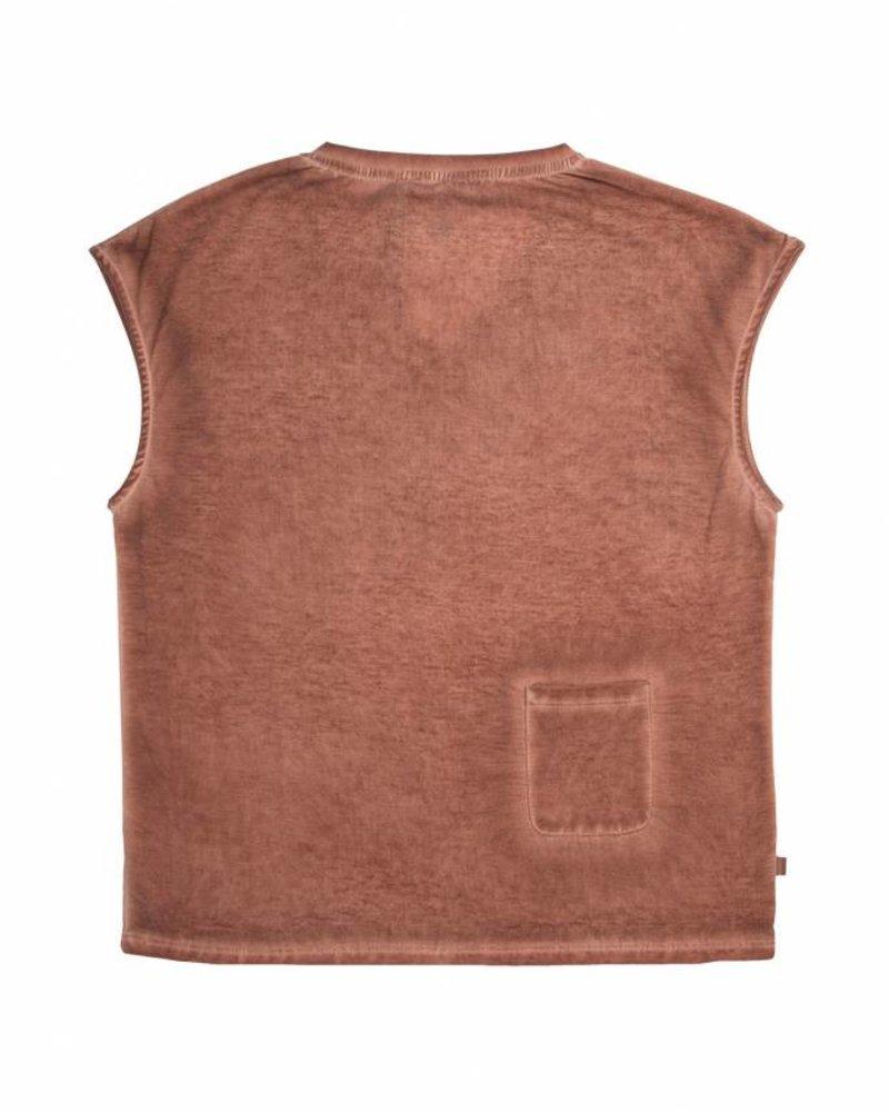 Zusss eigenwijs t-shirt poederroze