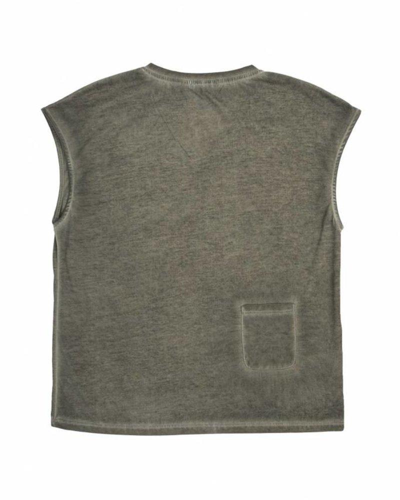 Zusss eigenwijs t-shirt leemgroen