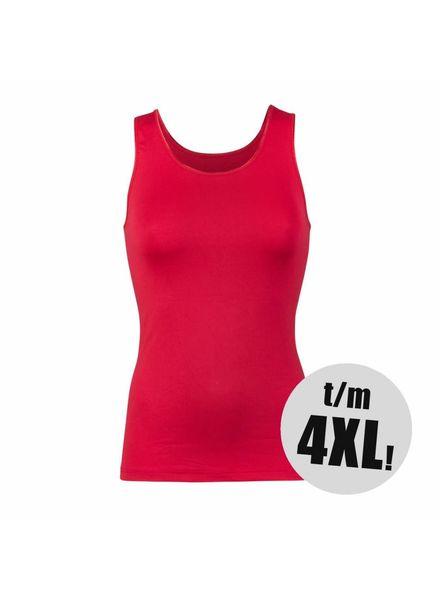 RJ Bodywear singlet pure color donkerrood