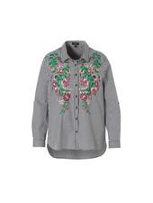 October blouse gingham