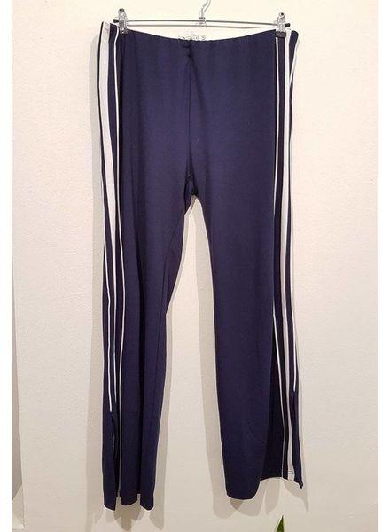 Wide leg trackpants