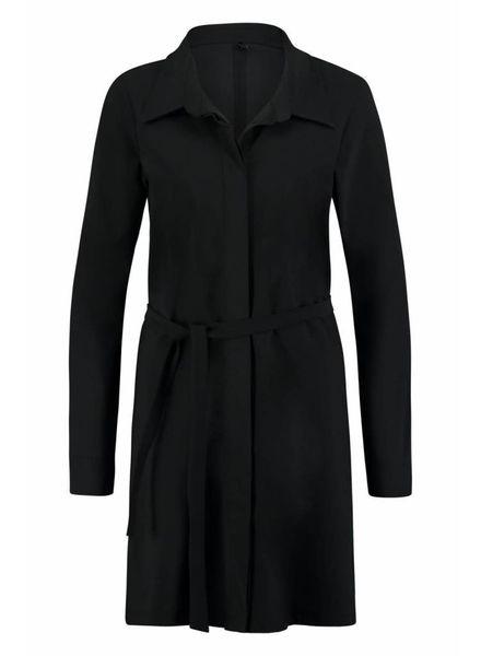 Shirt long 8XL black