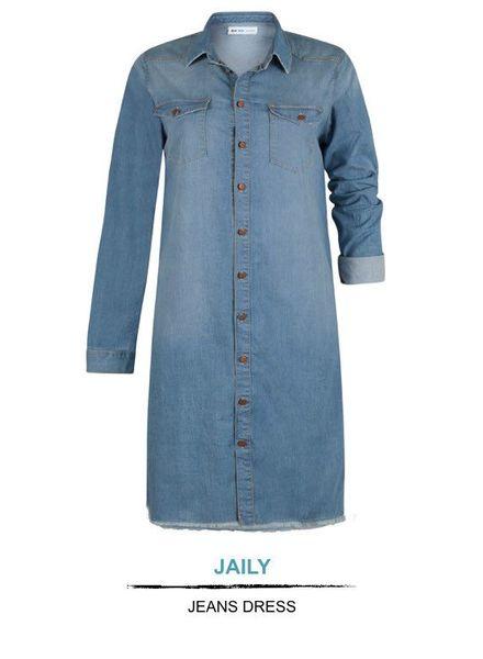 Blue Frog Jeans Jeans jurk Jaily Blue Frog Jeans