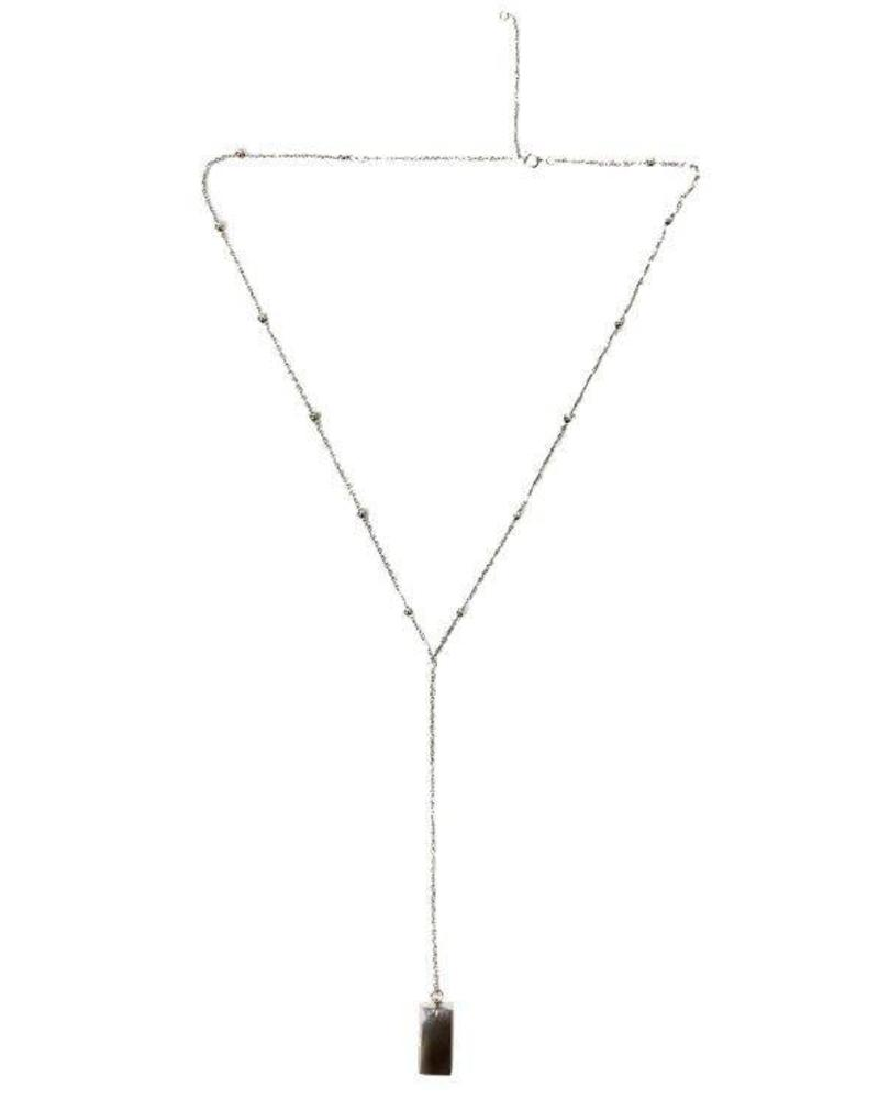 LIKELIKELIKE layer necklace staal
