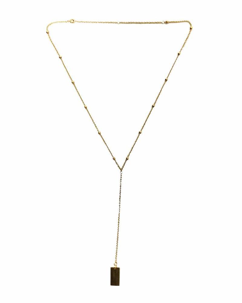 LIKELIKELIKE layer necklace gold