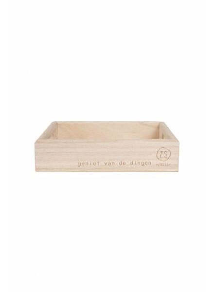 dienblad hout S
