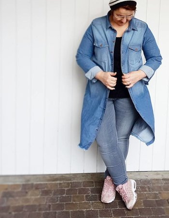 denim dress vs overcoat