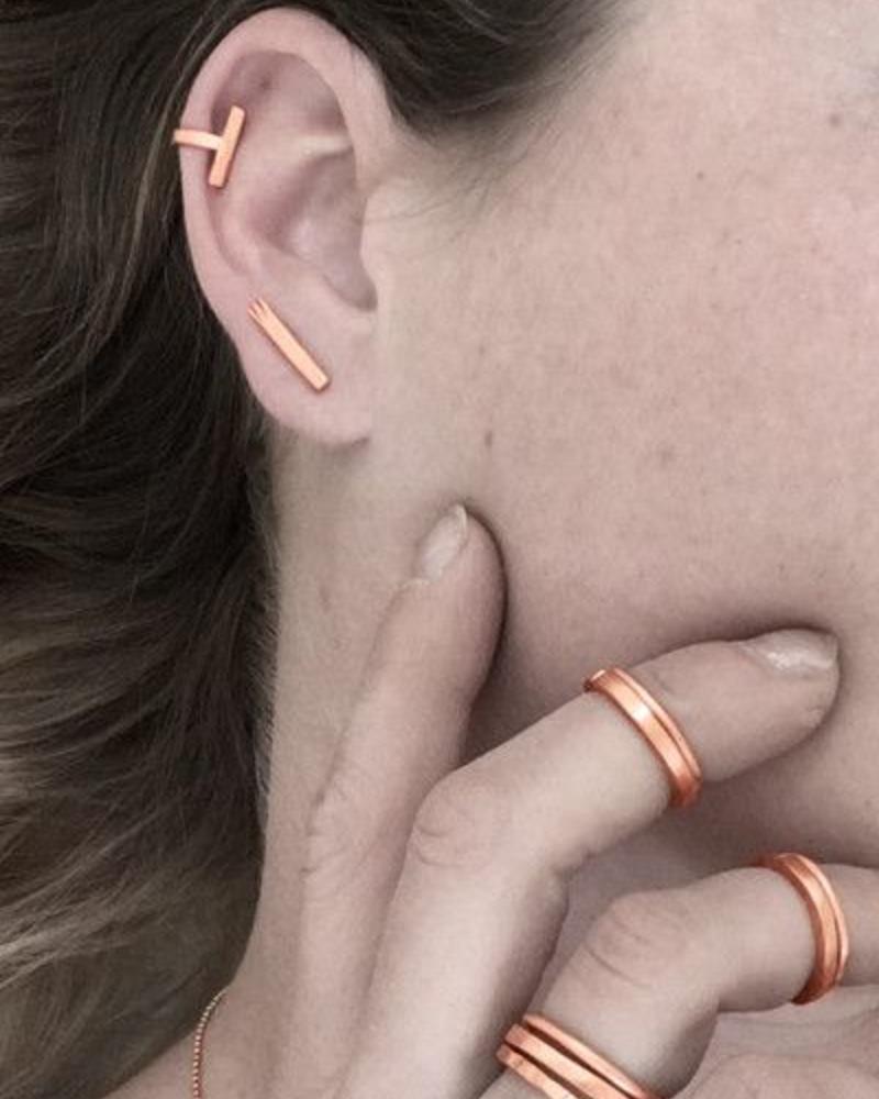 CU oorstekers staafjes