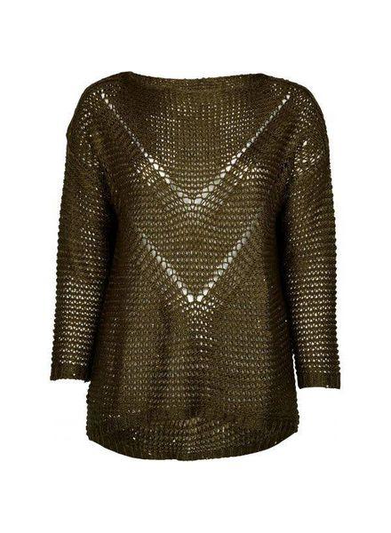 Zoey Knit army