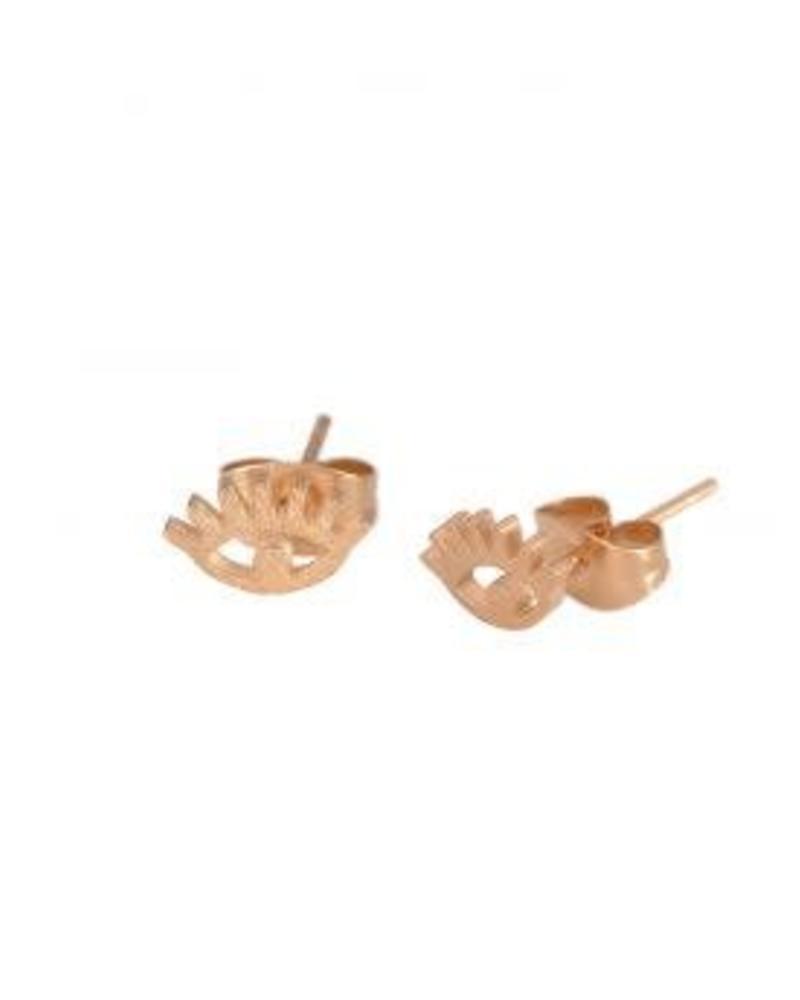 earstuds rose