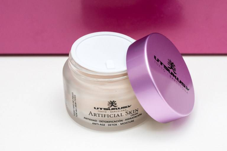 Artificial skin creme
