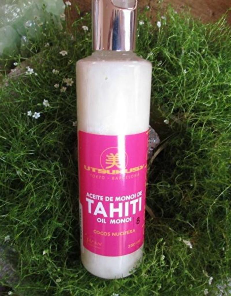 Utsukusy Tahiti Monoi oil SPF 8