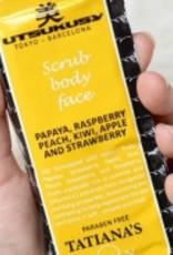 Utsukusy Fruitzuren scrub voor gezicht en lichaam