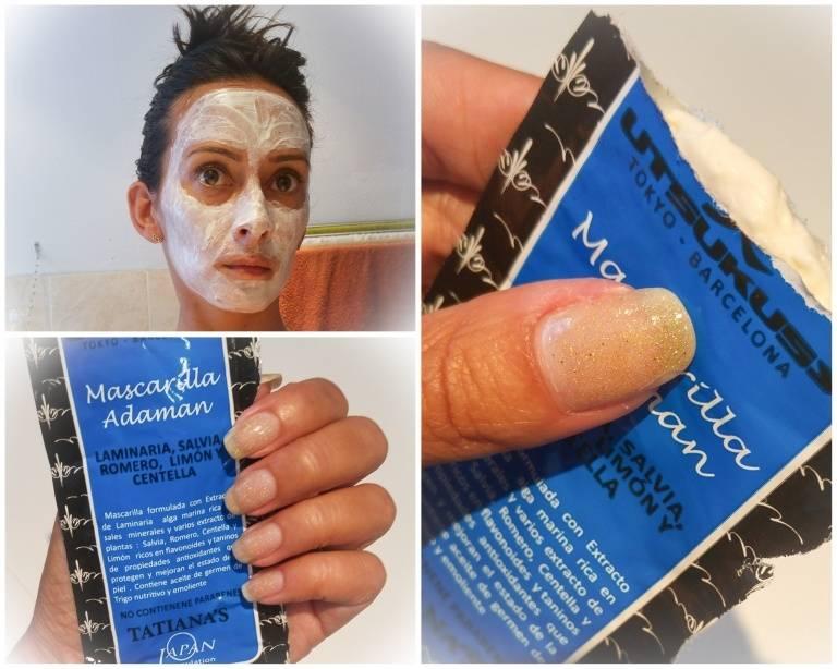 Utsukusy Adaman kelp, rosemary and sage facial mask