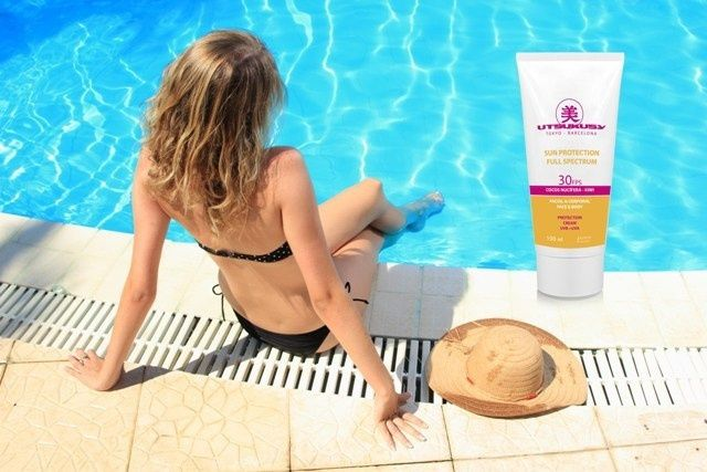 Utsukusy Sun Protection Body & Face factor 30