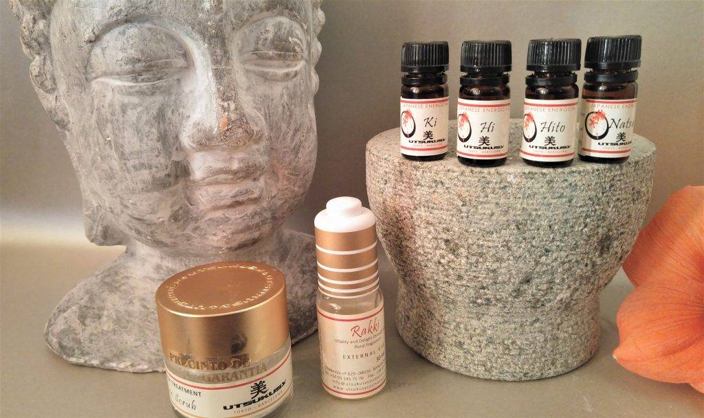 Utsukusy Japanese Rice ritual relaxing complete set