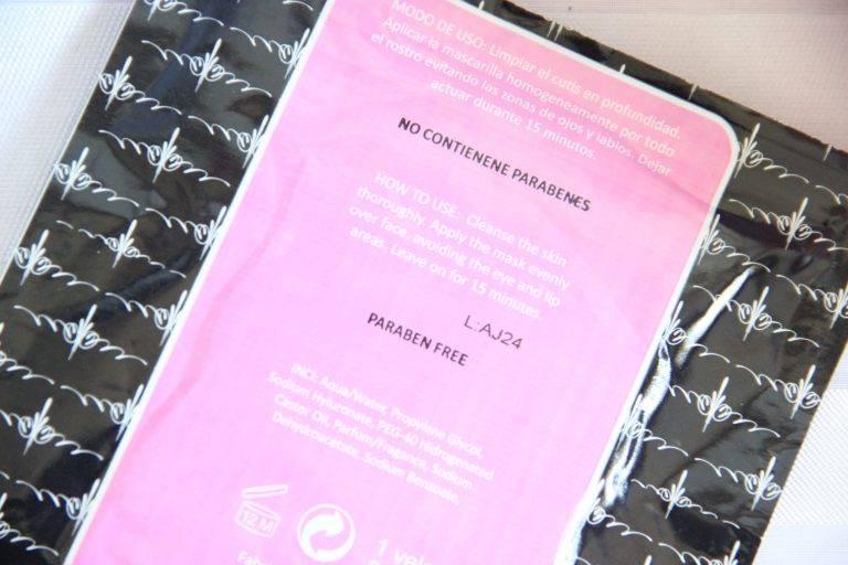 Utsukusy Hyaluronzuur vliesmasker voor de droge en vochtarme huid