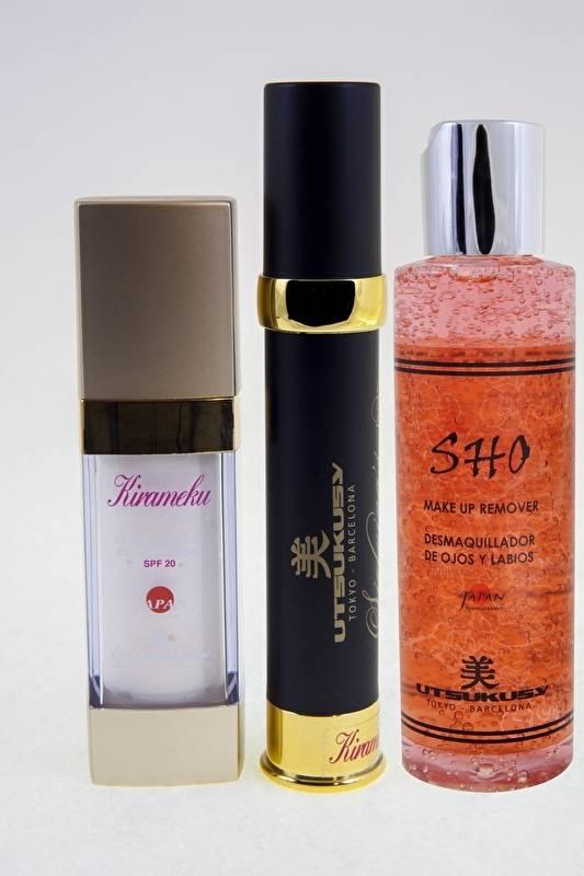 Utsukusy Harimedo beauty box voor de gevoeilige huid rond de ogen, anti-rimpel
