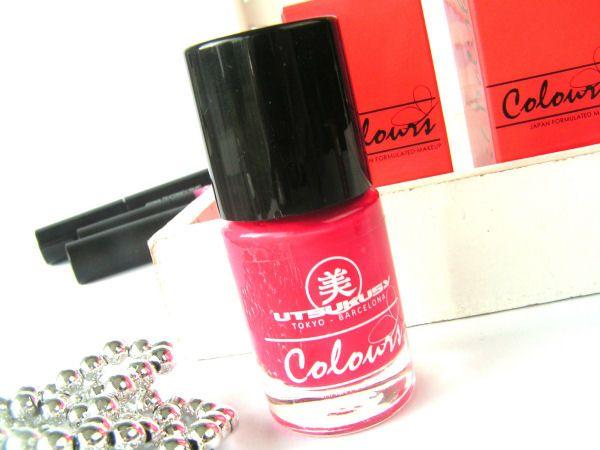 Utsukusy 5 free Pink nail polish