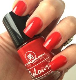 Utsukusy Red nail polish