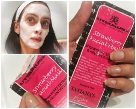 Utsukusy Tatiana's Week | Aardbeien masker en scrub