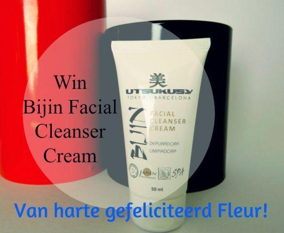 En de winnares van de Bijin Facial Cleanser Cream is ...