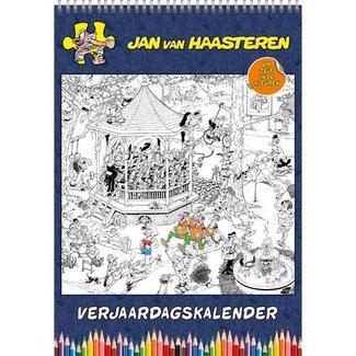 Comello Jan van Haasteren Verjaardagskalender Kleurplaten