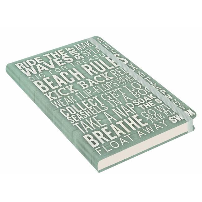 Peter Pauper Beach Rules Notitieboek mid-size  (A5)