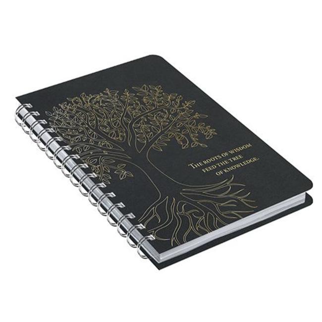 Comello Tree of Life Black Rock Notitieboek
