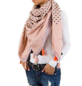 Sjaal Tessa rose