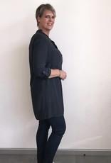 Grijze lange blouse