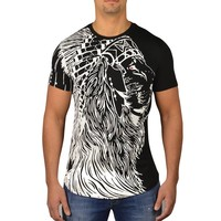 JEANROIS CHIEF LION - ZWART