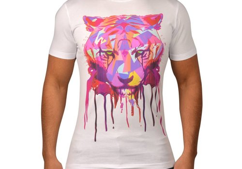 JEANROIS JEANROIS CUBIC TIGER - WIT