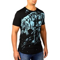 JEANROIS ABSTRACT TIGER - ZWART