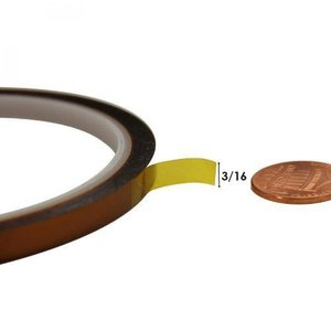 Kapton Hittebestendige Tape 10 mm x 30 Meter