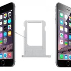 A-pple iPhone 6 Plus Sim Tray Zilver